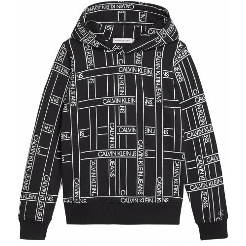 Calvin Klein φούτερ IB0IB00638 0GO μαύρο