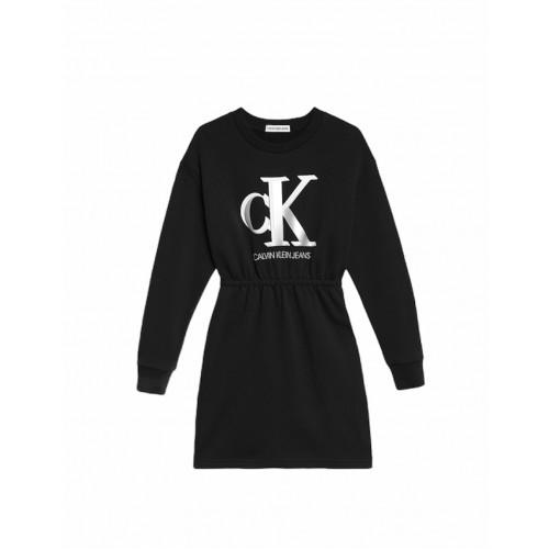 Calvin Klein φόρεμα μαύρο IG0IG01028-BEH