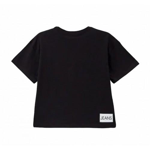 Calvin Klein μπλούζα μαύρο IG0IG01064-BEH
