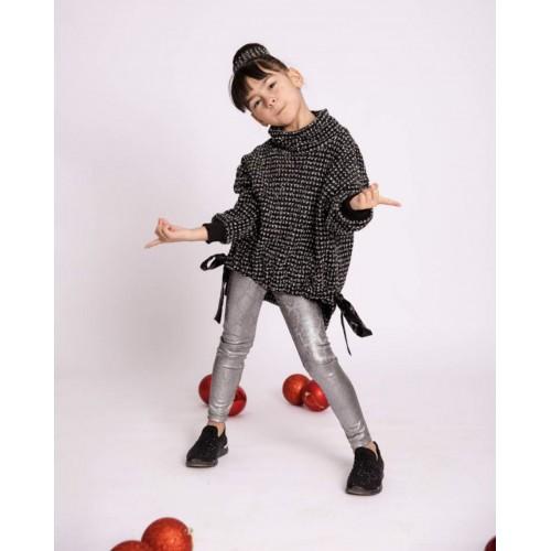 Melin rose μπλούζα πλεκτή lurex MRW21-0145