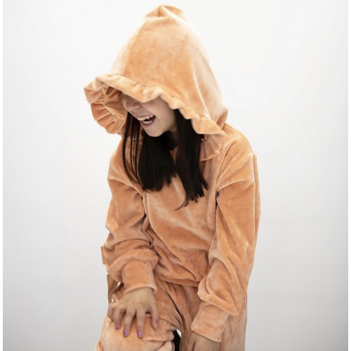 Melin rose σετ φόρμα βελούδινη MRW21-618 σομόν