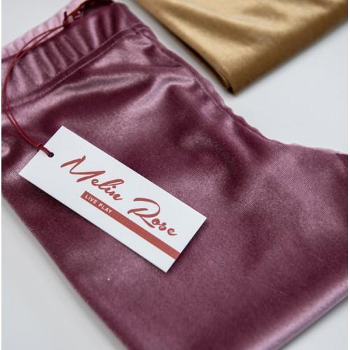 Melin Rose κολάν βελούδινο MRW21-3100 ροζ