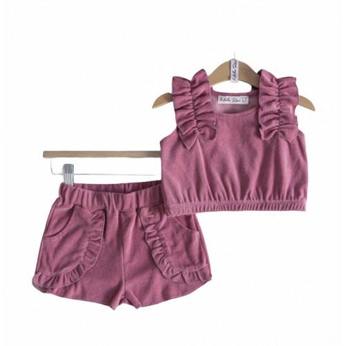 Melin Rose πετσετέ σετ ροζ MRS21-650