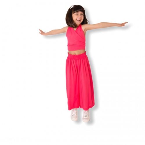 Melin Rose παντελόνα MRS21-3102 φούξια