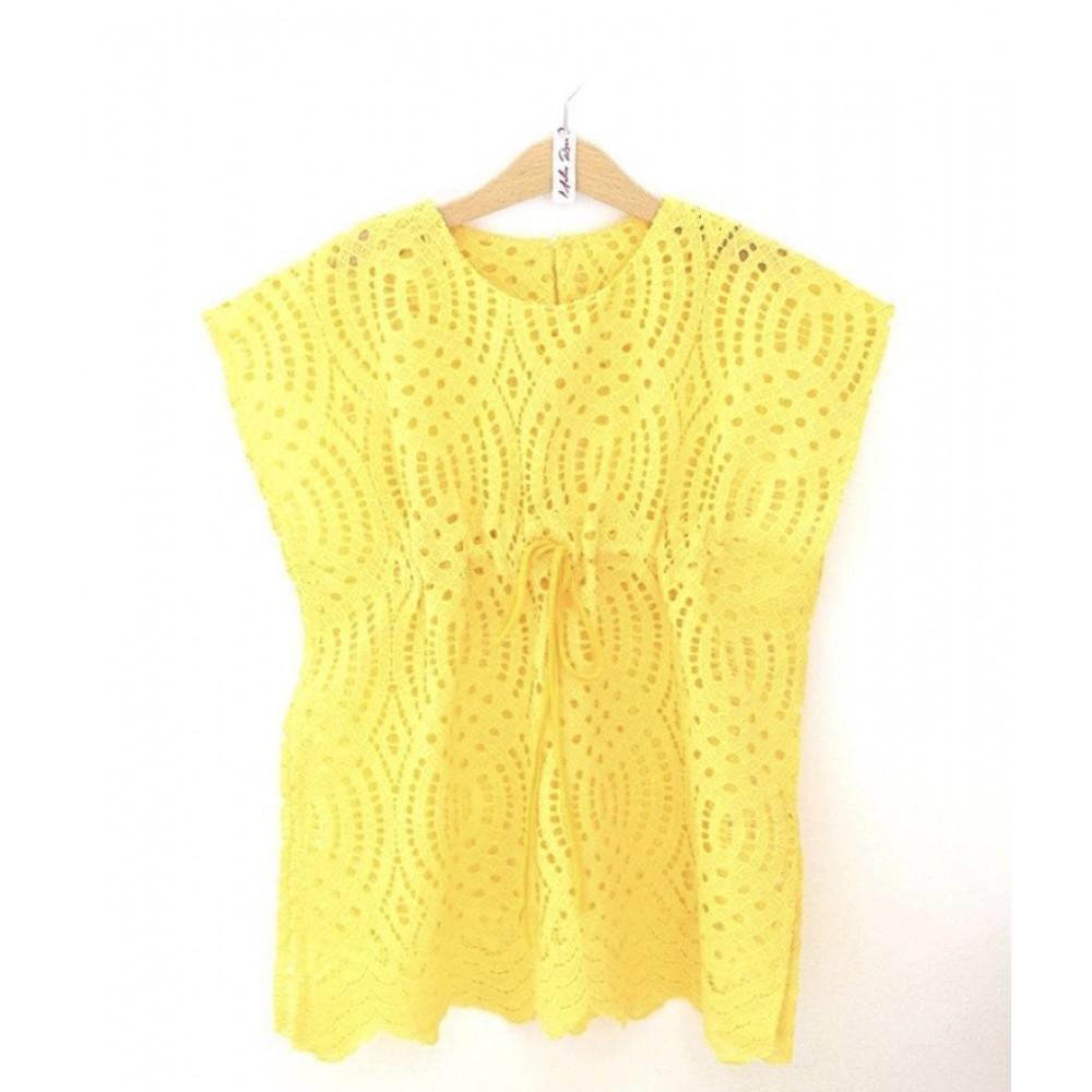 Melin Rose καφτάνι κίτρινο MRS21-800