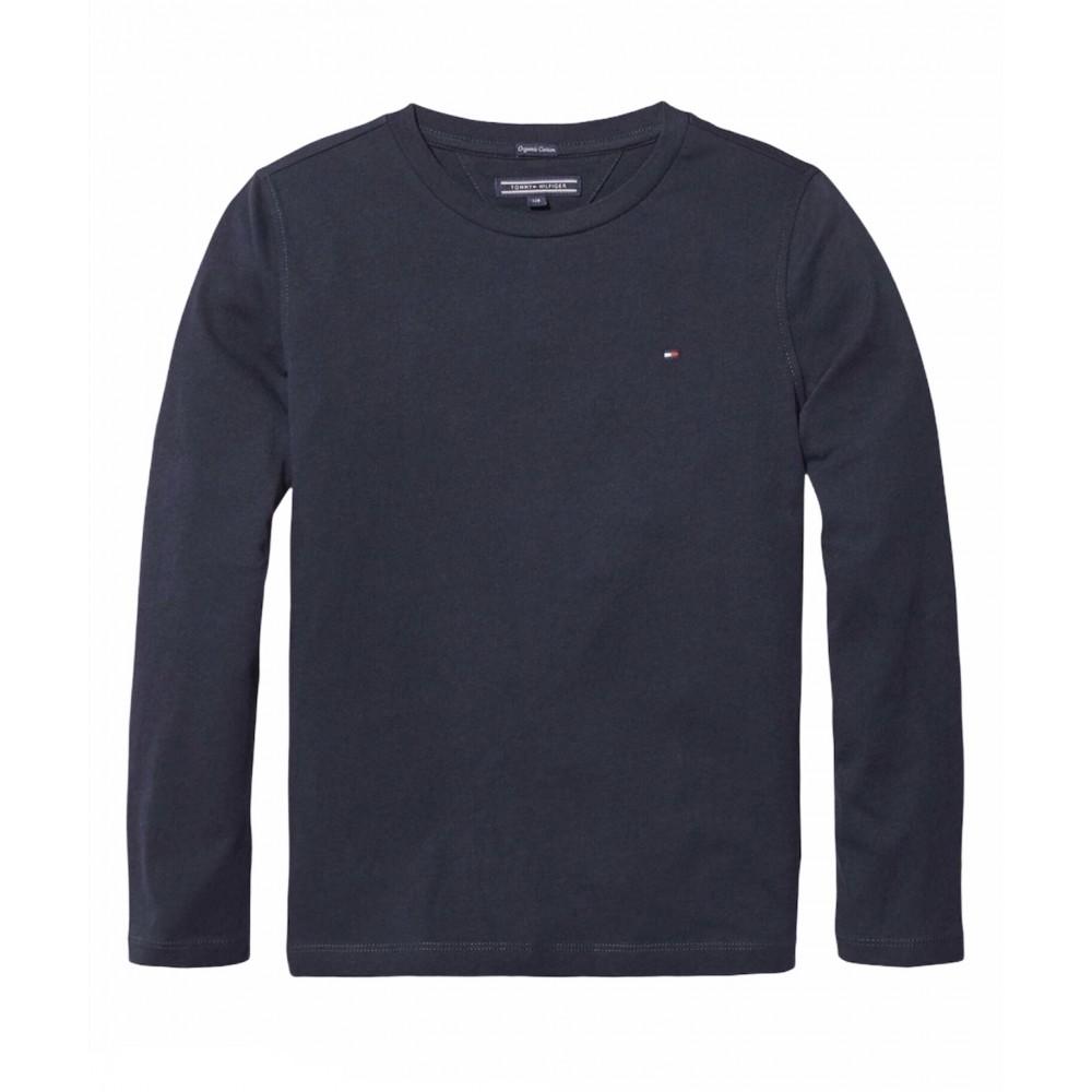 Tommy Hilfiger μπλούζα μπλε KB0KB04141-420