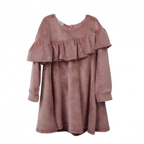 Two in a castle φόρεμα ροζ T260708