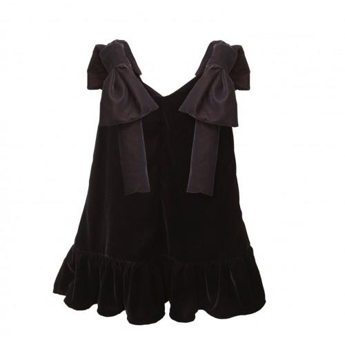 Two in a castle φόρεμα μαύρο T263231